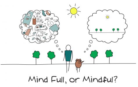 It's hard sometimes to get everything done. But instead of keeping our minds full, we can focus on being mindful, and it will be easier.